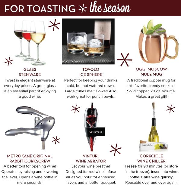 For Toasting the Season