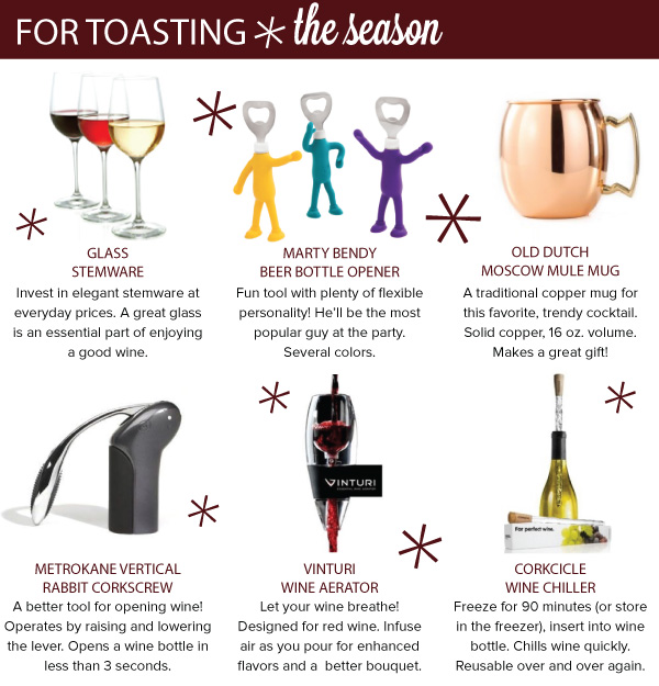 For Toasting the Season
