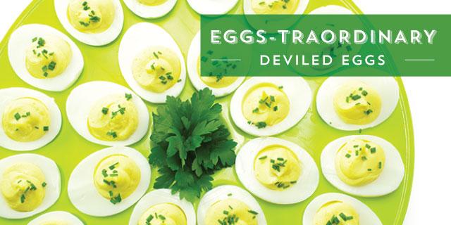 Deviled Eggs - 5 Ways