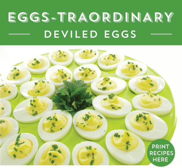 EGGS-TRAORDINARY DEVILED EGGS - 5 WAYS - Cooks Wares