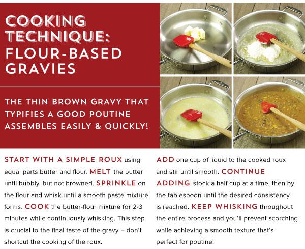 Cooking Technique: Flour-Based Gravies