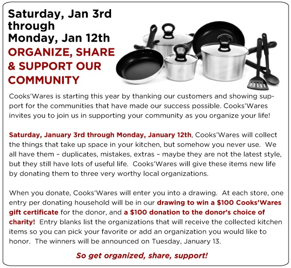 Organize and Share