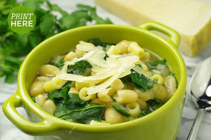 Italian Escarole and White Bean Soup