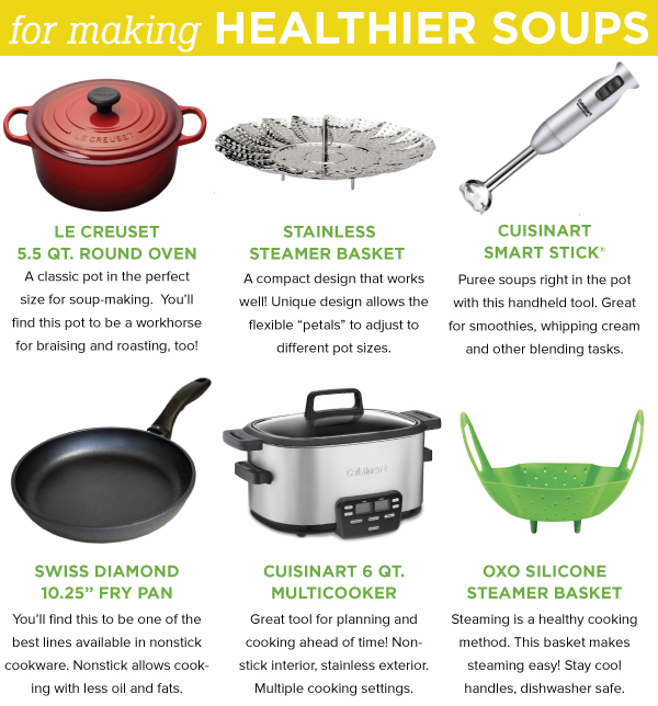 For Making Healthier Soups