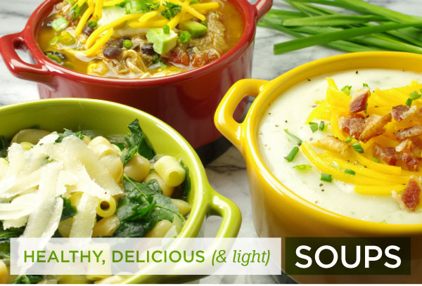 For Healthy and Delicious Soups