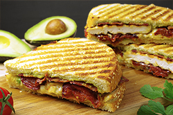 Chicken Bacon Melt Panini