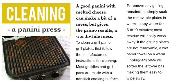 Cleaning a Panini Press