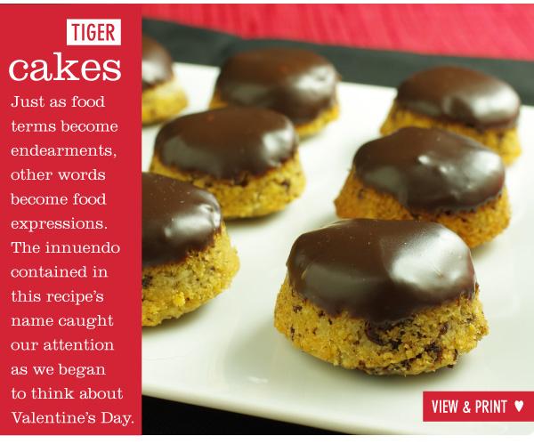 RECIPE: Tiger Cakes