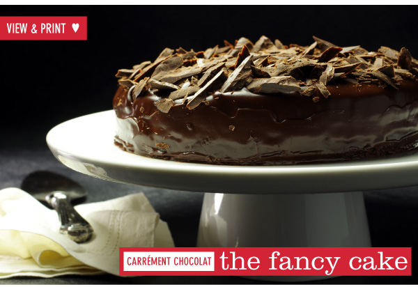 RECIPE: The Fancy Cake