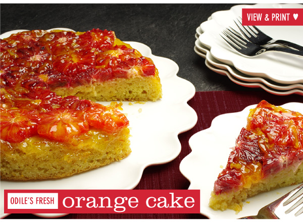 RECIPE: Odile's Fresh Orange Cake