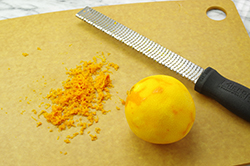 Zesting the Orange