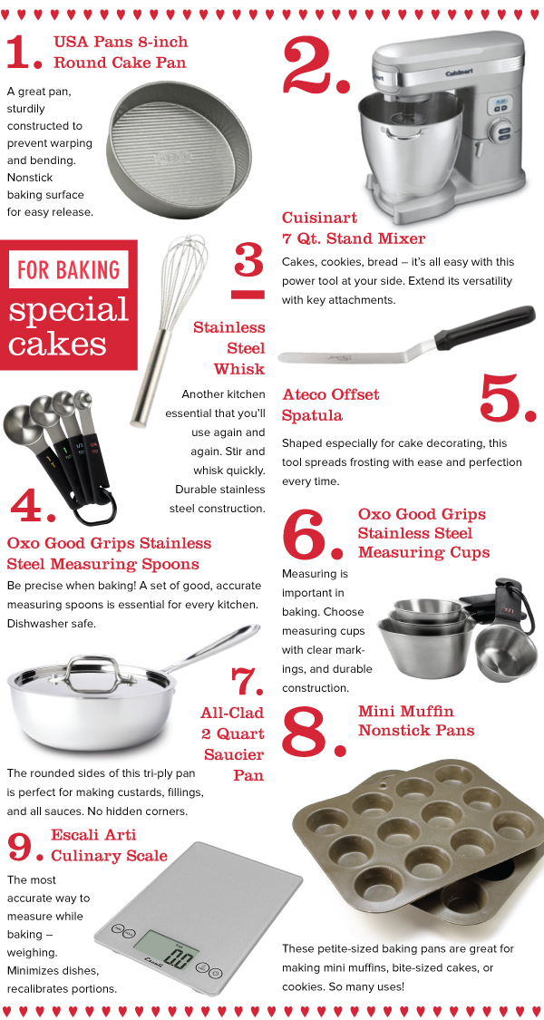 For Baking Cakes