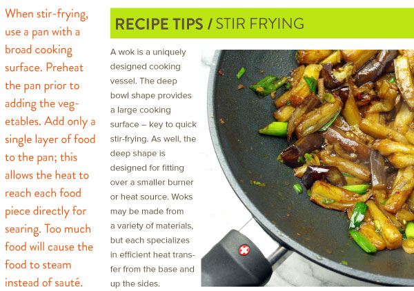 Recipe TIps: Stir Frying