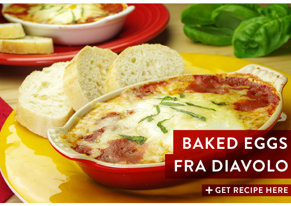 RECIPE: Baked Eggs Fra Diavolo