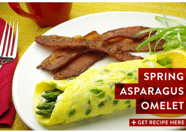 RECIPE: Spring Asparagus Omelet