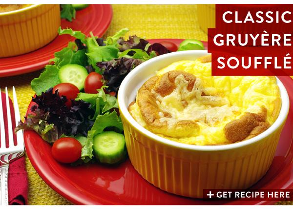 RECIPE: Classic Gruyere Souffle