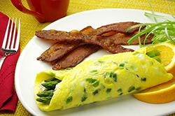 Spring Asparagus Omelet