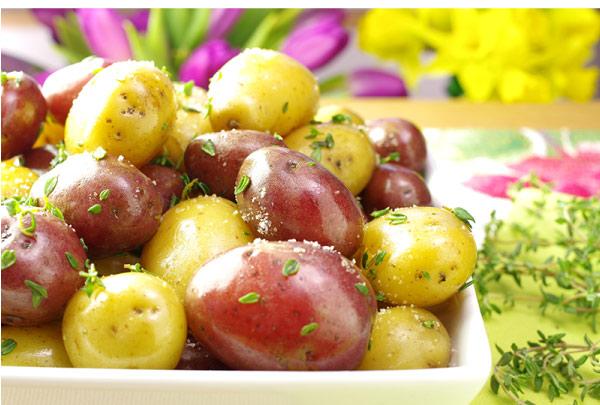 Spring-Thyme Potatoes