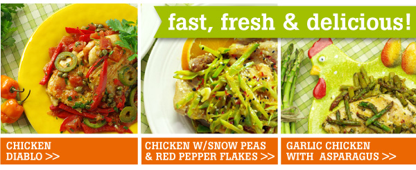 Fast, Fresh and Delicious