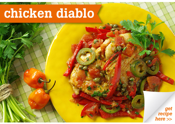 RECIPE: Chicken Diablo