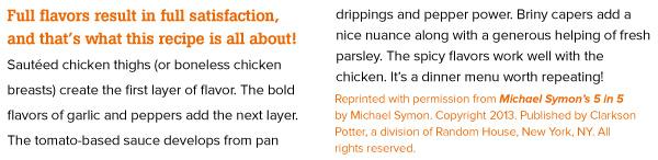 RECIPE: Chicken Diablo