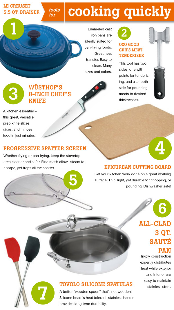 Tools for Cooking Quickly