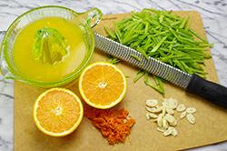 Citrus and Peas