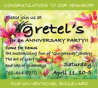 Gretel's Anniversary