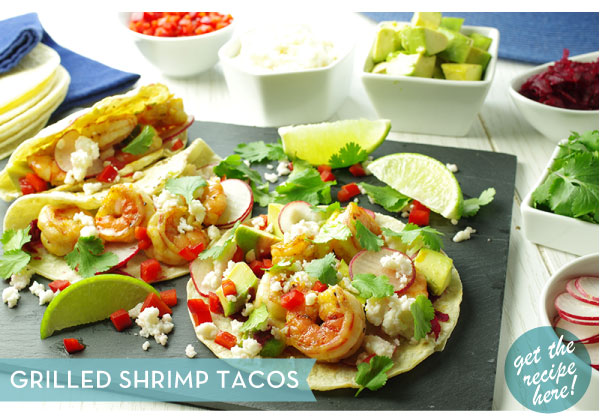 RECIPE: Grilled Shrimp Tacos