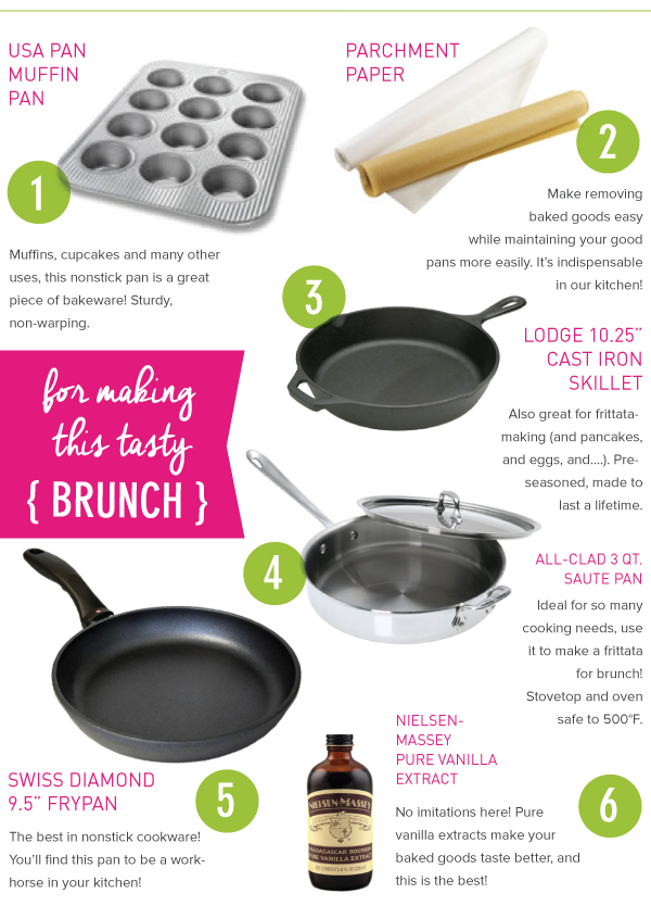 For Making this Tasty Brunch