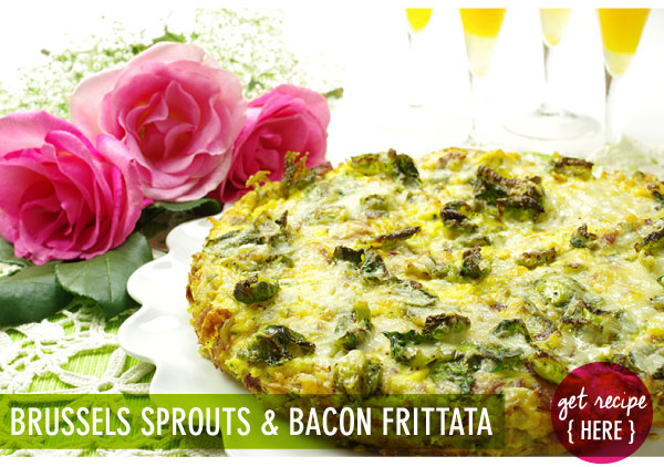RECIPE: Brussels Sprouts and Bacon Frittata