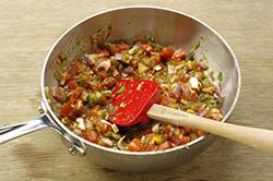 Sauce in Pan