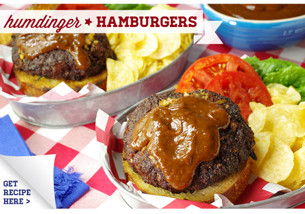 RECIPES: Humdinger Hamburgers