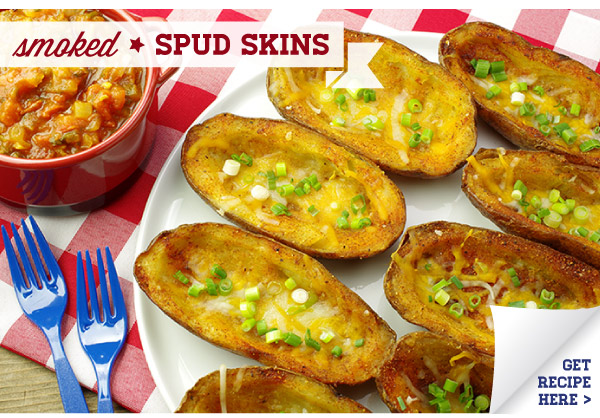 RECIPE: Smoked Spud Skins