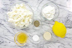 Whipped Feta Ingredients