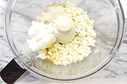 Feta in Food Processor