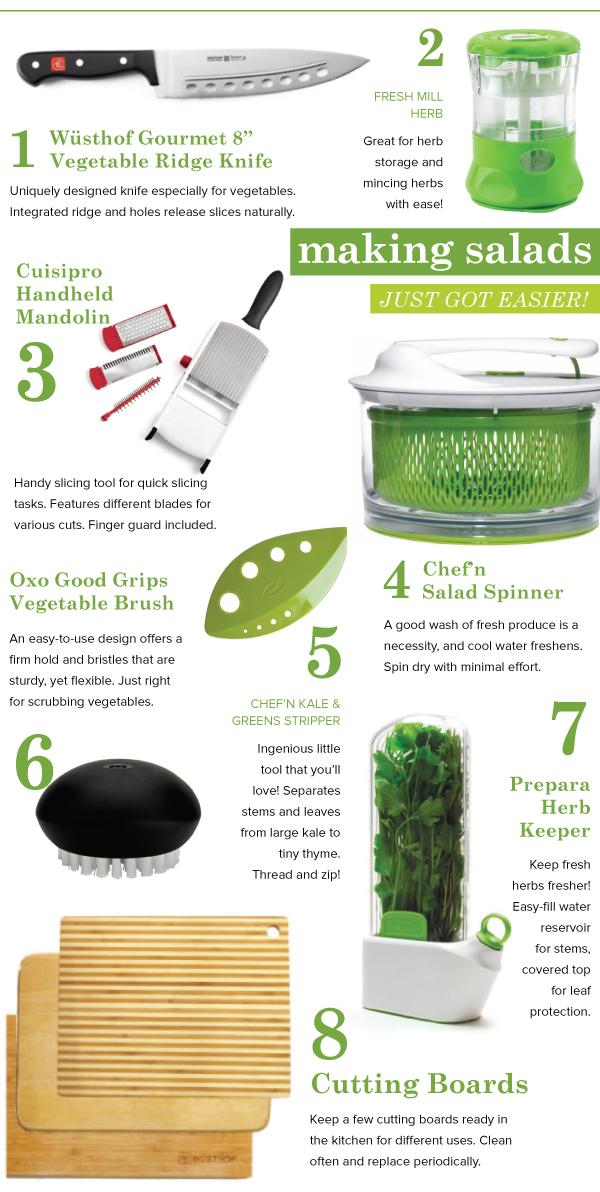 Making Salads Just Got Easier!