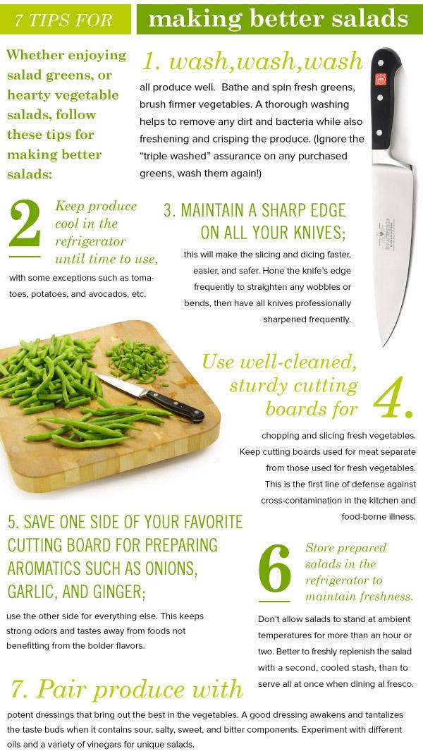 7 Tips for Making Better Salads