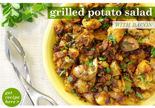 RECIPE: Grilled Potato Salad with Bacon