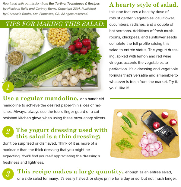 Tips for making this salad