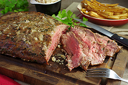 Bistro Steak and Frites with Shallot Butter