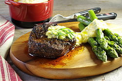 Creole, Coffee-Rubbed Filet Mignon with Béarnaise Sauce