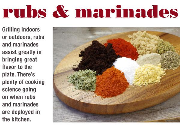 Rubs and Marinades