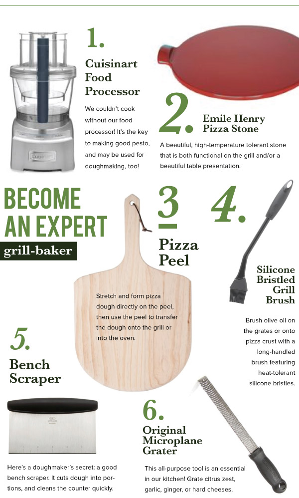 Grill-Baking Tools