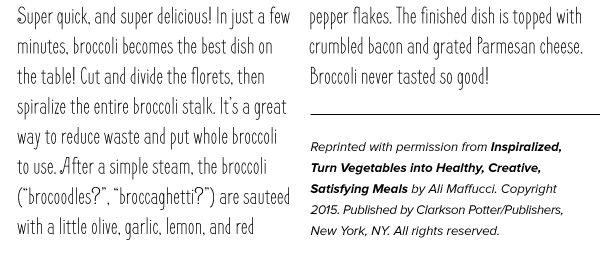 RECIPE: Lemon Garlic Broccoli with Bacon