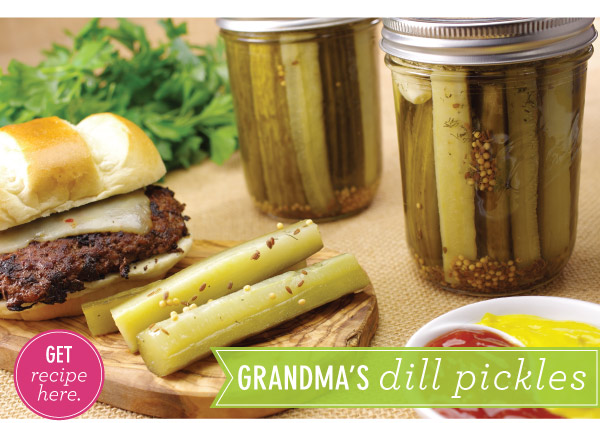 RECIPE: Grandma's Dill Pickles