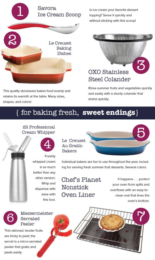 For Baking Sweet Endings