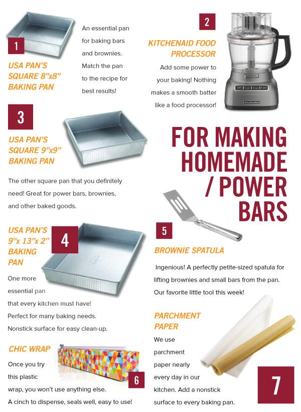 For Making Homemade Power Bars