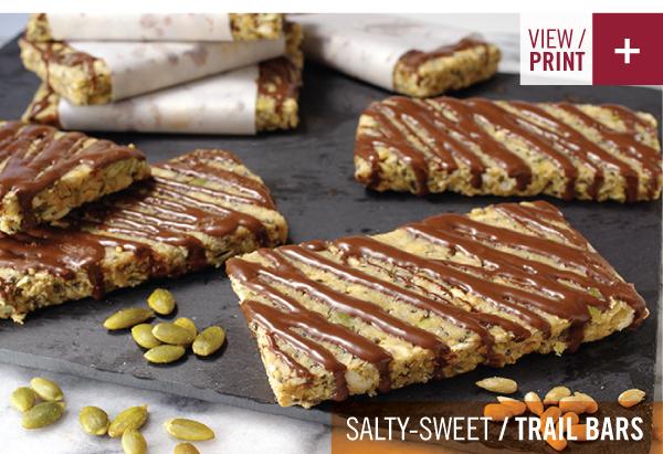 RECIPE: Salty-Sweet Trail Bars