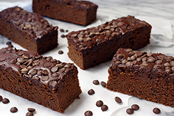 Black Bean High Protein Brownies